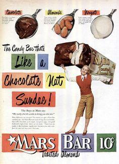 Mars Bar, Retro Candy, Chocolate, Photos, Pictures, Schokolade, Chocolates
