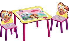 Mesa y sillas Patrulla Canina Girl - TT89578PW - MESAS PARA NIÑAS, IndalChess.com Tienda de juguetes online y juegos de jardin