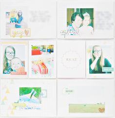 made by Justt: Project Life - weeks Project Life Album, Projects, Blog, Log Projects, Blue Prints, Blogging