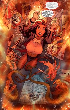 Zatanna by Paul Dini, Stephane Roux and Karl Story Dc Comics Women, Dc Comics Art, Comics Girls, Marvel Dc Comics, Anime Comics, Comic Book Characters, Comic Character, Comic Books, Comic Book Girl