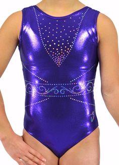 """Focus - Purple"" - Di's Designs - Gymnastics Leotard #gymnastics #gymnasticsleotard #leotard #artisticgymnastics #gymsuit #gymnast #artisticgymnastics"