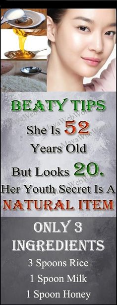 This woman is 52 and looks 20 . Youth Secret Natural Item