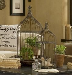 birdcages - Jen, is this what you were thinking of?  Or maybe white?