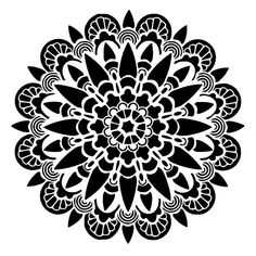 mandala stencil 11 craft,fabric,glass,furniture,wall art up to Cool Stencils, Stencil Decor, Mandala Stencils, Stencil Painting, Stencil Designs, Stenciling, Silk Painting, Mandalas Painting, Mandalas Drawing