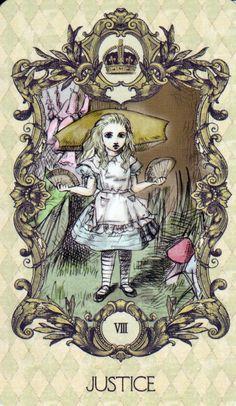 Tarot Card Alice   (A majors only deck)