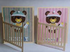 Nette's Paper Crafts: Baby Card
