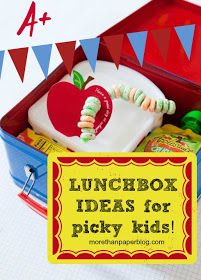 More Than Paper Blog: School Lunches