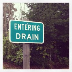 Why is Oregon so wet? It only has one Drain.
