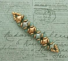 Yesterday I came across the bracelet photo below on Pinterest but it didn't link to a website. So, I have no idea who made the bracelet or...