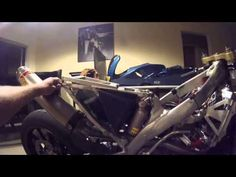 Honda CRF450R Roadrace Supersingle walkaround - YouTube  Nice little point by point of the ins and outs of the Racetech Supersingles kit.  Pros and Cons