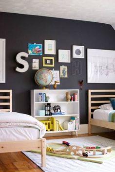 nursery decor ideas in black