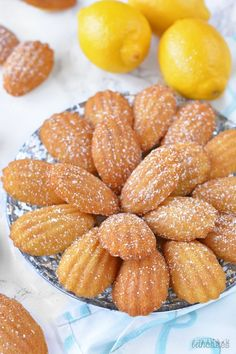 Classic French Madeleines are easy, fluffy, and delicious! bethcakes.com
