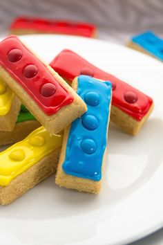 Easy Lego Shortbread Cookies