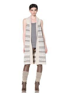 Yes, I am a bag lady wearing leg warmers