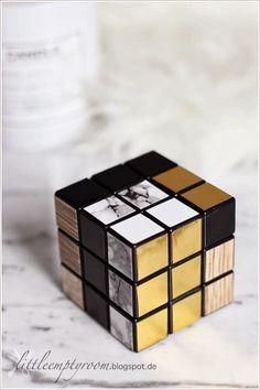 DIY Modern Rubik's Cube - MUST DO!!!