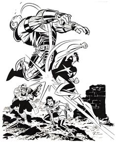 WILDSTAR illustration by Bruce Timm, in JuanmiguelinDP's Main Gallery Comic Art Gallery Room - 1217788