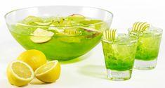Eksoottisen hedelmäinen booli valkoviini pisang ambon vodka lime