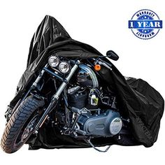 New Generation Motorcycle Cover Xyzctem All Weather Black Xxxl Large Best Quality Waterproof Outdoor Protects Fits Up To 118 Inch Harley Davidson Honda Suzu Motorcycle Cover Bike Cover Black Motorcycle
