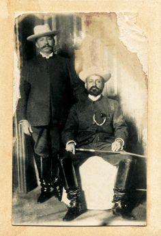 Presidentes Juan Vicente Gomez y Cipriano Castro 1902