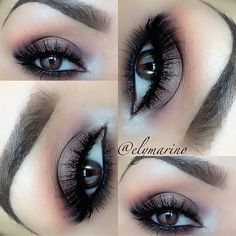 Brown Smokey Eyes #elymarino