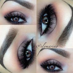 Brown Smokey Eyes #elymarino