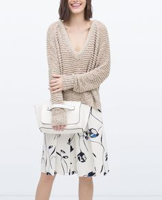 Image 2 of OPEN KNIT SWEATER from Zara
