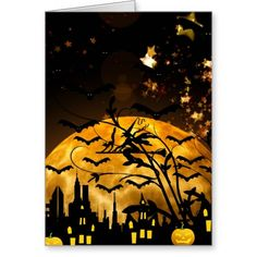 Flying Witch Harvest Moon Bats Halloween Gifts