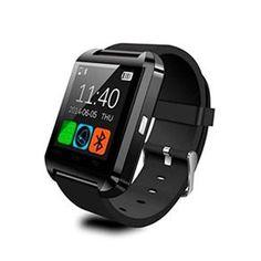 Smartwatch U8 Relogio Inteligente Bluetooth Android Iphone - Preto