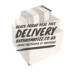 Free standard delivery on orders above Enter at the checkout. Bath Quotes, Black Friday Deals, Bath Bombs, Delivery, Cards Against Humanity, Free, Bath Bomb, Bath Fizzies