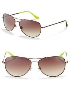"kate spade ""Ally"" Petite Aviator Sunglasses  Bloomingdale's $138"