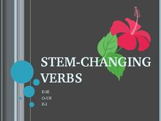 Stem Changing Verbs Spanish PowerPoint Guided Practice, Teacher Newsletter, Classroom Ideas, Spanish, Presentation, Students, Shoe, Colorful, Education
