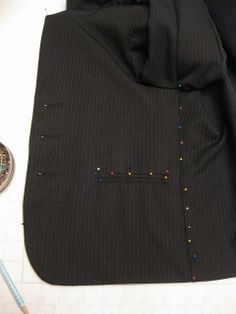Blazer pattern making tutorial, How to make a pattern from an article of clothing you already own...FINALLY!