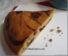 Whole wheat marble cake is an easy chocolate marble cake recipe using whole wheat flour and cocoa powder. There is no butter in this cake. Butterless Cake Recipe, Chocolate Marble Cake, Marble Cake Recipes, Cinnamon Coffee, Indian Food Recipes, Ethnic Recipes, Tasty, Yummy Food, Vegetarian Chocolate