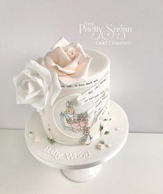 Peter Rabbit Beatrix Potter Baby Shower Cake