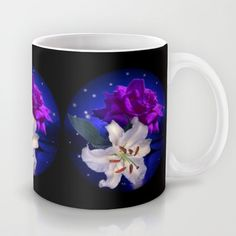 #Society6 Magic Flowers  Mug by Elena Indolfi - $15.00