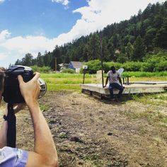"""Behind the scenes of our Fall 15 photo shoot. Follow us on Beme for more! """"AmericanGiant"""" #AmericanGiant #Beme #MadeinUSA #Fall15Preview #BigBear"""