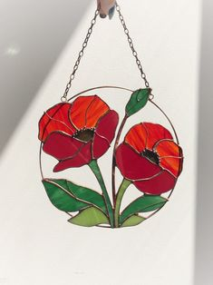 Stained Glass Frames, Tiffany Stained Glass, Stained Glass Suncatchers, Stained Glass Flowers, Tiffany Glass, Stained Glass Designs, Stained Glass Projects, Stained Glass Patterns, Stained Glass Art