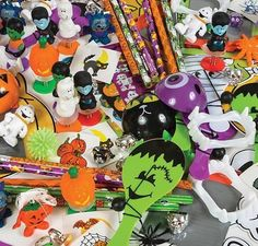 $9.99For:25+ Piece HALLOWEEN Toy & Novelty Assortment ~ New  #Rino