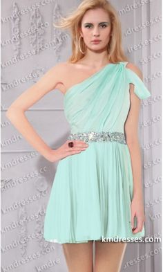 Elegant Mint beaded semi-sheer chiffon short homecoming gown.prom dresses,formal dresses,ball gown,homecoming dresses,party dress,evening dresses,sequin dresses,cocktail dresses,graduation dresses,formal gowns,prom gown,evening gown.