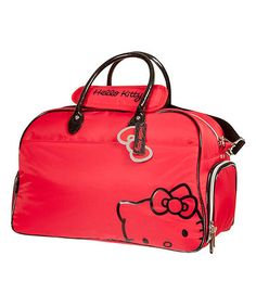 Love this Hello Kitty Red Premier Collection Duffle Bag by Hello Kitty on #zulily! #zulilyfinds