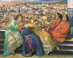Women from Fez by Meriem Meziane