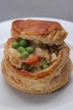 Warm Up With These Too Cute For Words Chicken Pot Pies