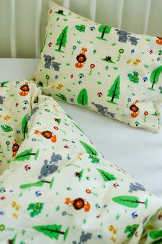 Como Fazer Capa de Édredon + Fronha :: How to Sew a Toddler Duvet Cover + Pillowcase