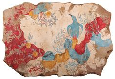 Greek Frescoes (Knossos Collection) eclectic-artwork