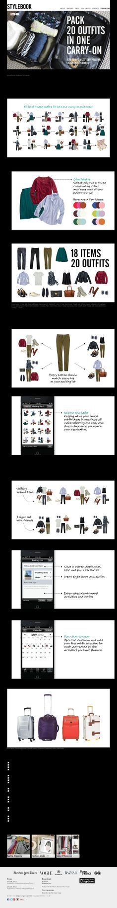 The website 'http://www.stylebookapp.com/stories/packing_list.html' courtesy of @Pinstamatic (http://pinstamatic.com)