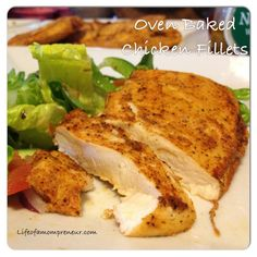 Easy Oven-Baked Chicken Fillets