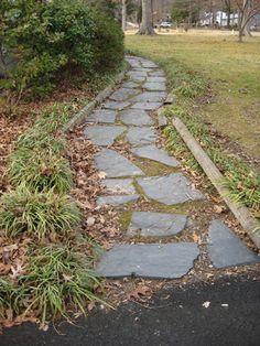 Clean Slate walkway
