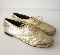 glitter oxfords, too.