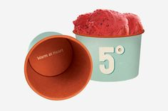 This is great! If I do a one scoop-like cup or a pre made ice cream.