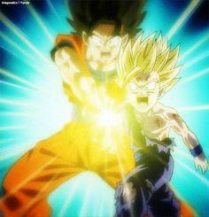 Kamehameha vs spirit bomb kamehameha live wallpaper of goku s kamehameha vs vegeta s - Goku kamehameha live wallpaper ...